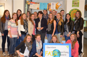 Fairtrade in der HBLW Saalfelden